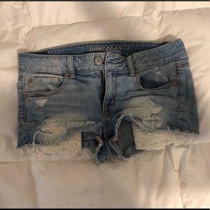 American Eagle Denim Shorts